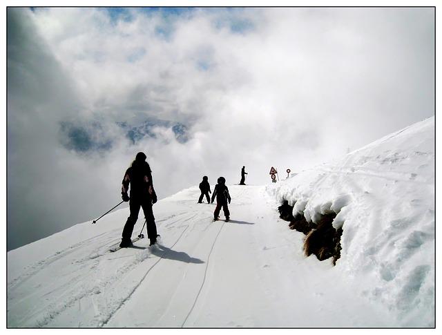 prostor na lyžování