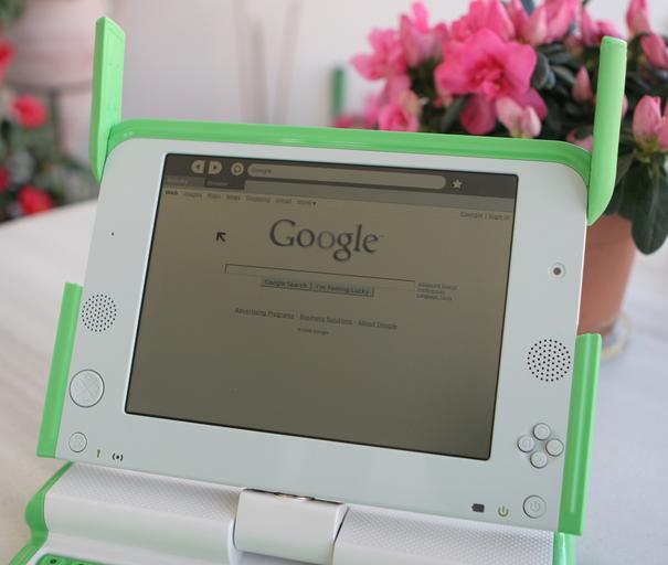 Google na obrazovce