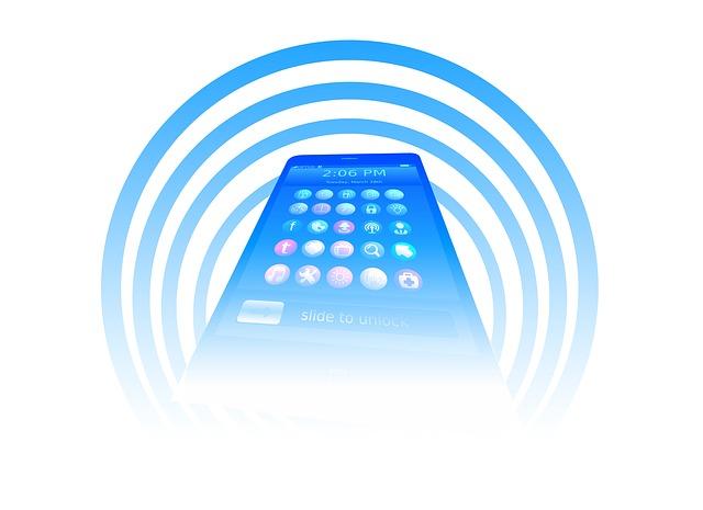 telefon a záření