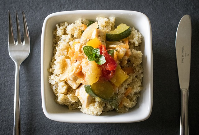 Zdravý pokrm z Quinoi