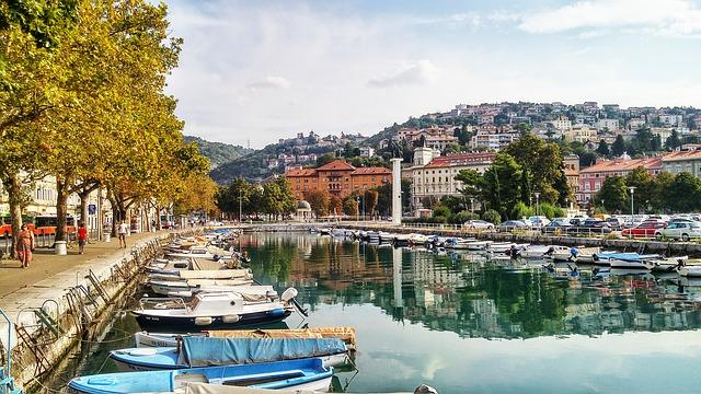 chorvatský přístav